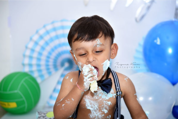 Pre-birthday, baby & kids photoshoot, Cake smash