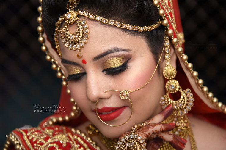 Bridal Portraits - Wedding Photography in Dehradun - Rajneesh Photography